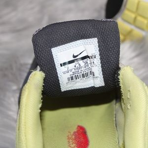 Gray&Yellow Nike Air Tailwind Women 7